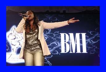 """Light Records latest signee, Anaysha Figueroa- Cooper singing """"Holy One"""" in tribute to Tramaine Hawkins"""