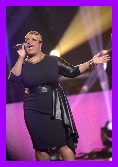 """""""Ms. Worship Soul"""" Anita Wilson singing her new single """"Jesus Will"""" during the first ever LIVE Stellar Award broadcast"""
