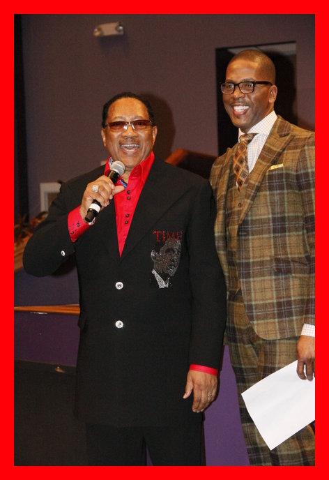 Dr. Bobby Jones and Choir Fest Co-Host, Donald Lawrence