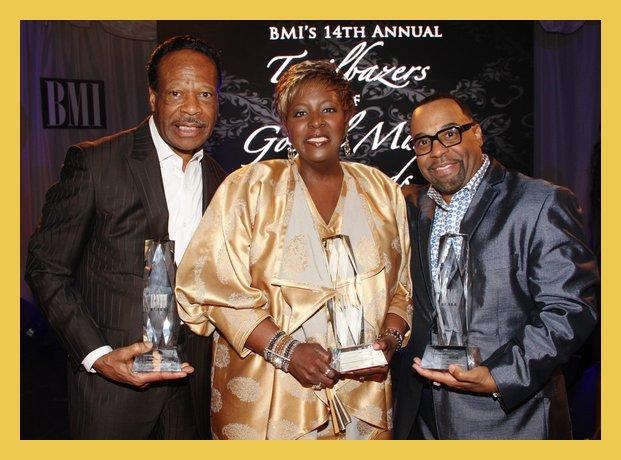BMI Honorees: Edwin Hawkins, Tramaine Hawkins and Kurt Carr