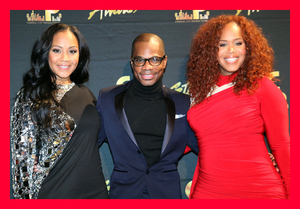 The Hosts of the evening- Mary Mary and Kirk Franklin