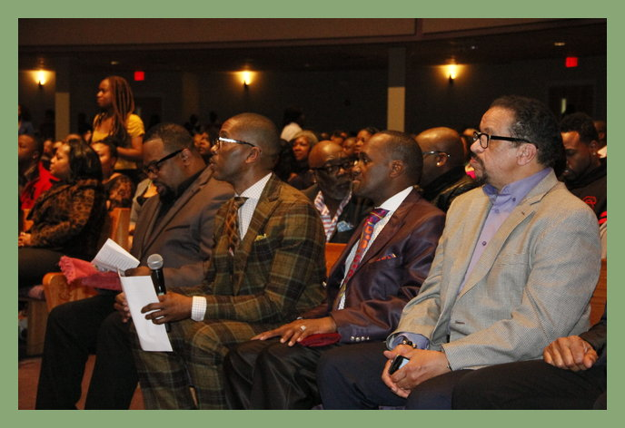 Hezekiah Walker, Donald Lawrence, Kervy Brown and Richard Smallwood