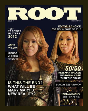 Issue #13 of Root featuring Mary Mary was a huge hit during Stellar weekend