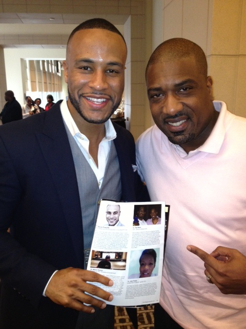 VP of Production at Columbia Pictures & Keynote Speaker, DeVon Franklin and Root Magazine's Editor-In-Chief, Hasan James