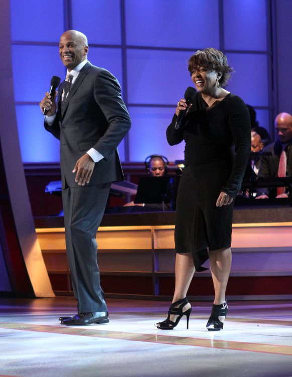 """SURPRISE! Donnie McClurkin and Anita Baker collaborate on the 1987 classic, """"Aint No Need To Worry"""", Baker made famous with The Winans"""