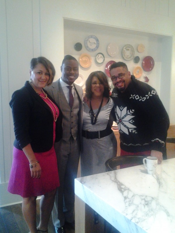 Attorney Heather Beverly Pastor Charles Jenkins Tracey Artis Byron Cage - Inspired People Signing