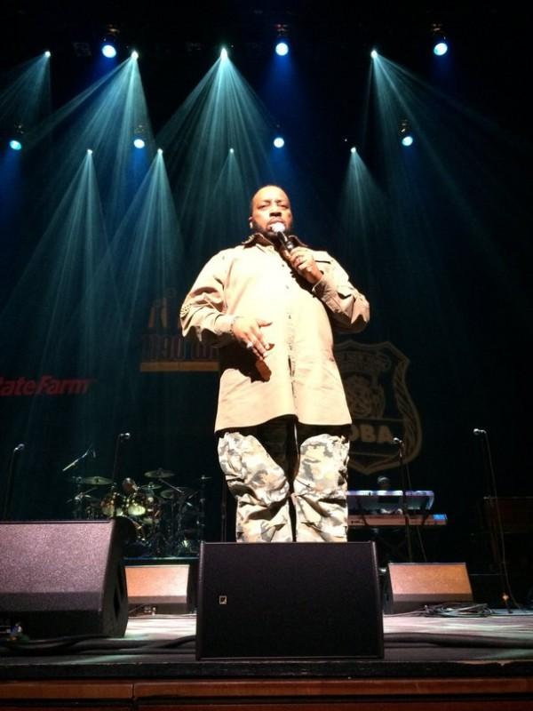"Marvin Sapp performing ""Best In Me"" at Hezekiah Walker & Friends. Photo Credit: Hasan James"