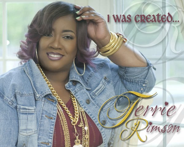 Terrie Rimson- I Was Created (Single Cover)