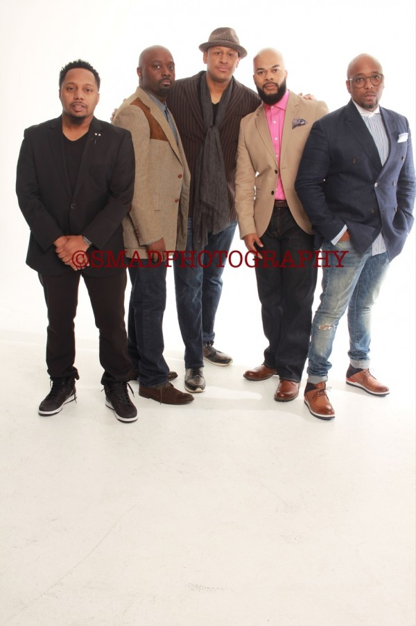 Gospel Crooners From Left to Right: Deon Kipping, Myron Butler, Brian Courtney Wilson, JJ Hairston and Gerald Haddon