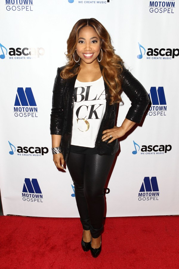 Motown artist Janice Gaines attends the seventh annual ASCAP Morning Glory Breakfast Reception honoring the 2016 Stellar Gospel Awards nominees at The Mirage Hotel & Casino in Las Vegas.