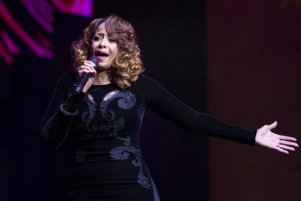 Dorinda Clarke Cole performs at the BMI Trailblazers of Gospel Music Honors at the Rialto Theatre on January 14, 2017, in Atlanta, GA. (Erika Goldring Photo)