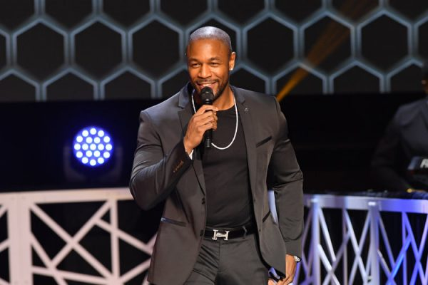 ATLANTA, GA - JANUARY 14: Tank performs at 2017 BMI Trailblazers of Gospel Music at Rialto Center for the Arts on January 14, 2017 in Atlanta, Georgia.  (Photo by Paras Griffin/Getty Images for BMI) *** Local Caption *** Tank