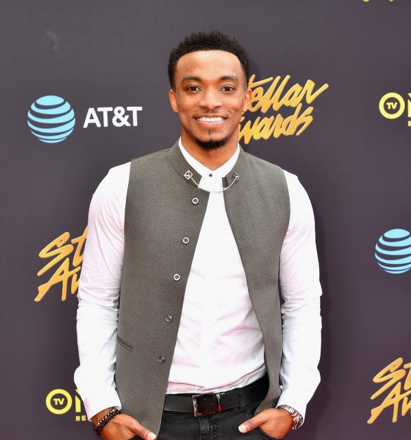 LAS VEGAS, NV - MARCH 25:  Singer Jonathan McReynolds arrives at the 32nd annual Stellar Gospel Music Awards at the Orleans Arena on March 25, 2017 in Las Vegas, Nevada.  (Photo by Earl Gibson III/Getty Images) *** Local Caption *** Jonathan McReynolds
